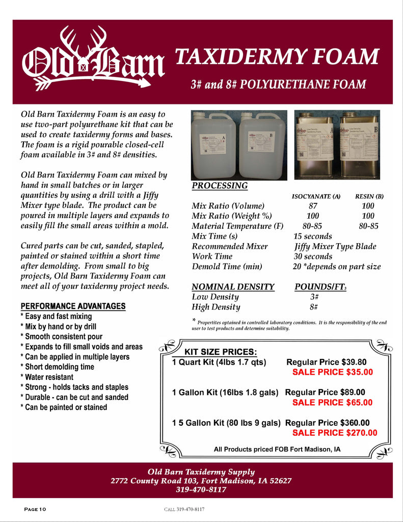 Old Barn Tannery 2020 Price List - Page 7