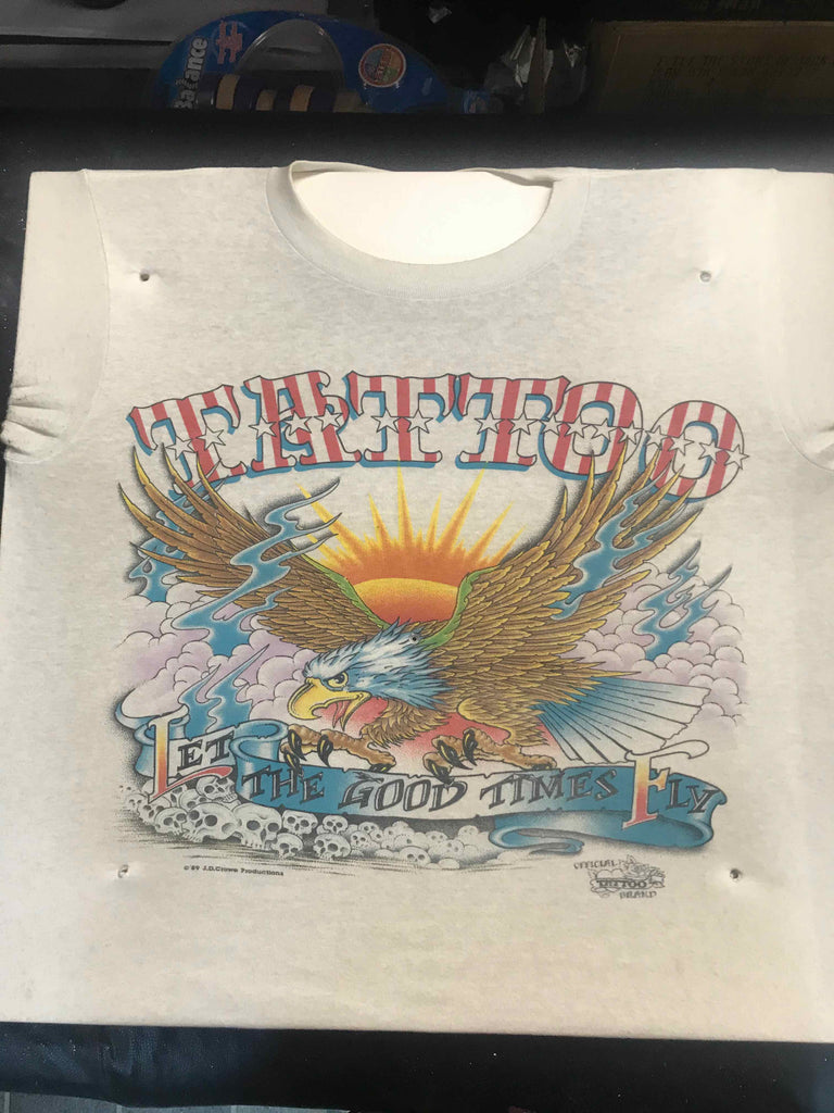 Vintage Tattoo Shirts from End of the Trail - Let The Good Times Fly