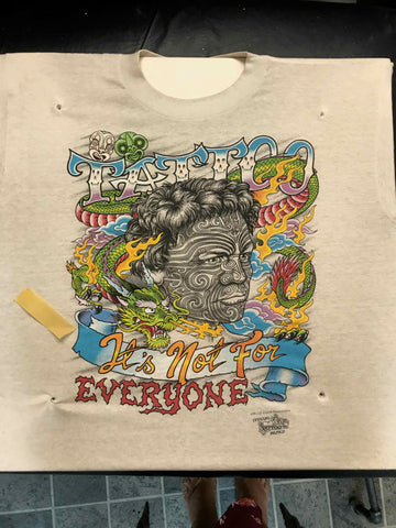 Vintage Tattoo Shirts from End of the Trail - Not For Everyone JD Crowe 1991