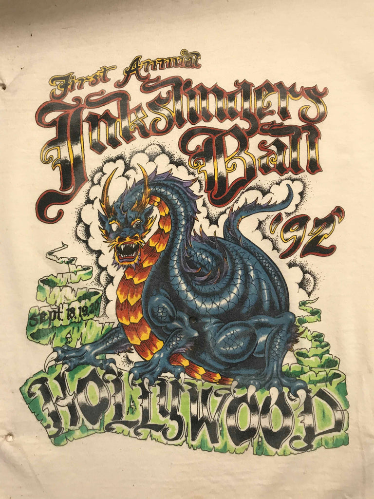 Vintage Tattoo Shirts from End of the Trail - First Annual Inkslinger's Ball 1992