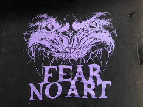 Vintage Tattoo Shirts from End of the Trail - Fear No Art Class Act Tattoo