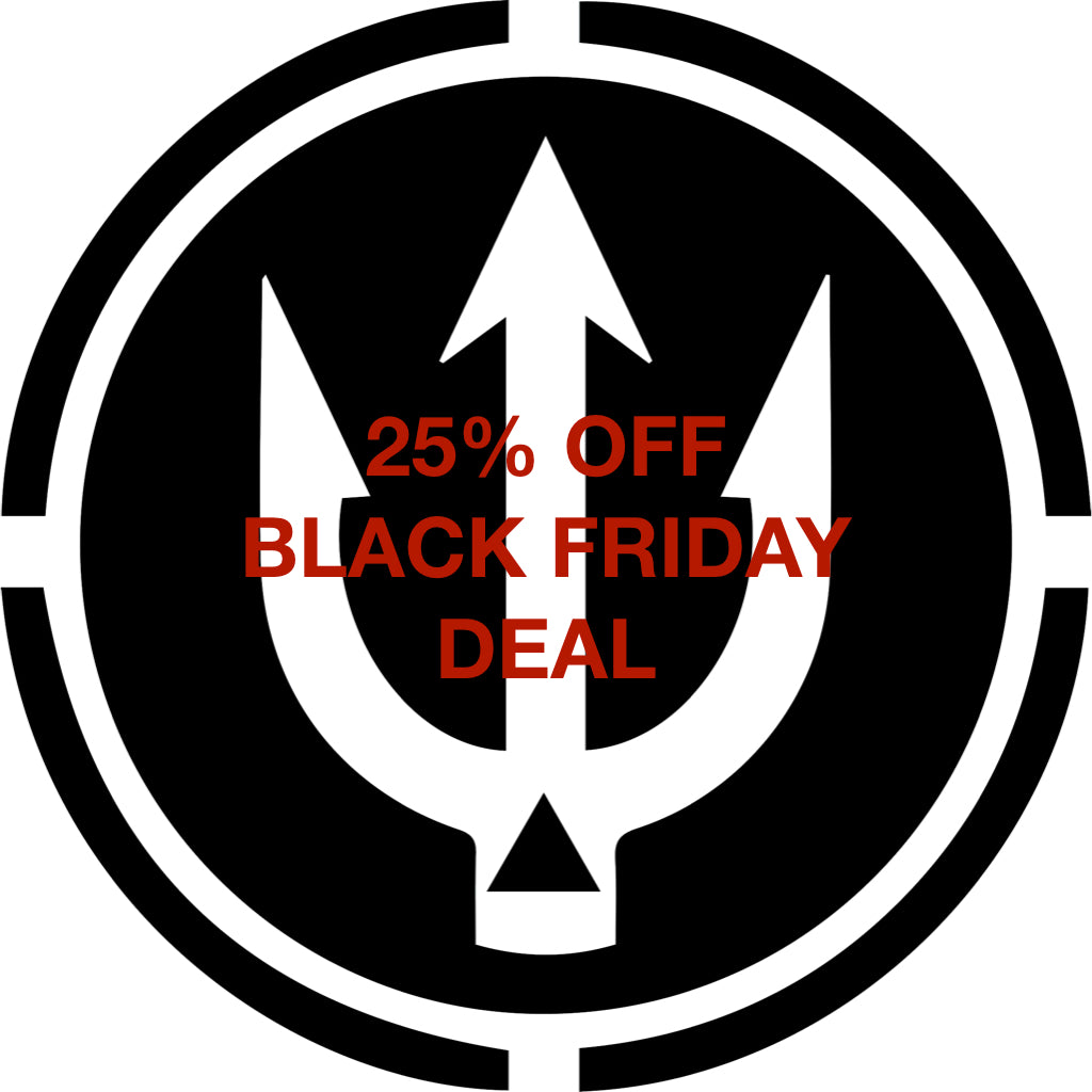 BLACK FRIDAY 25-30% off