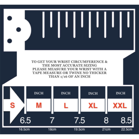 Men sizing guide