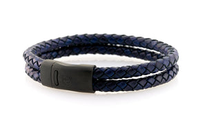 Maritime design. Mens bracelets by NEPTN. Magnetic clasp with Anchor engraving