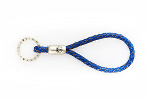Nautical designed keychains. Handcrafted in US. Leather. Anchor engraving.