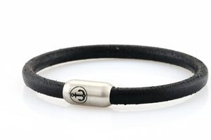 bracelet-man-Boatswain-6-Neptn-Leather-Anchor-Steel-Black