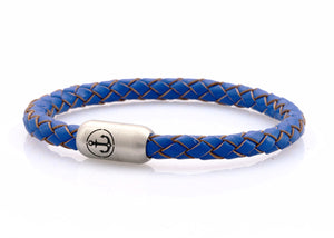 bracelet-man-Boatswain-6-Neptn-Leather-Anchor-Steel-ocean-blue