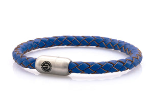 bracelet-man-Boatswain-6-Neptn-Leather-Trident-Steel-ocean-blue