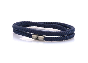neptn women bracelet JUNO Anchor Steel double 4 ocean rope