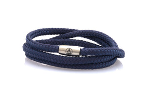 neptn women bracelet JUNO Anchor Steel Triple 4 ocean rope
