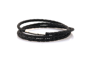 bracelet-woman-Venus-Neptn-Rhodium-3-black-triple-leather