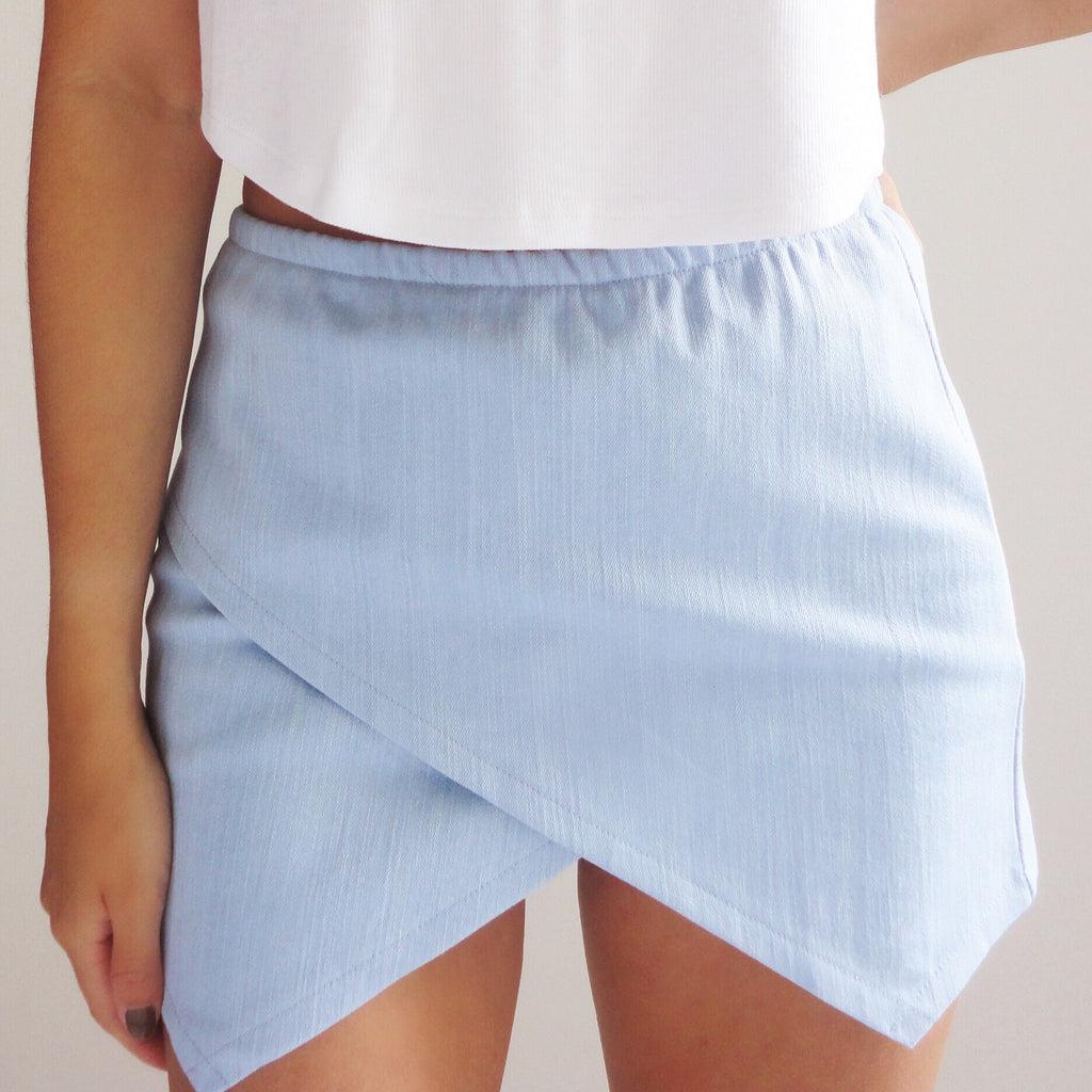 Carrie Denim Skort