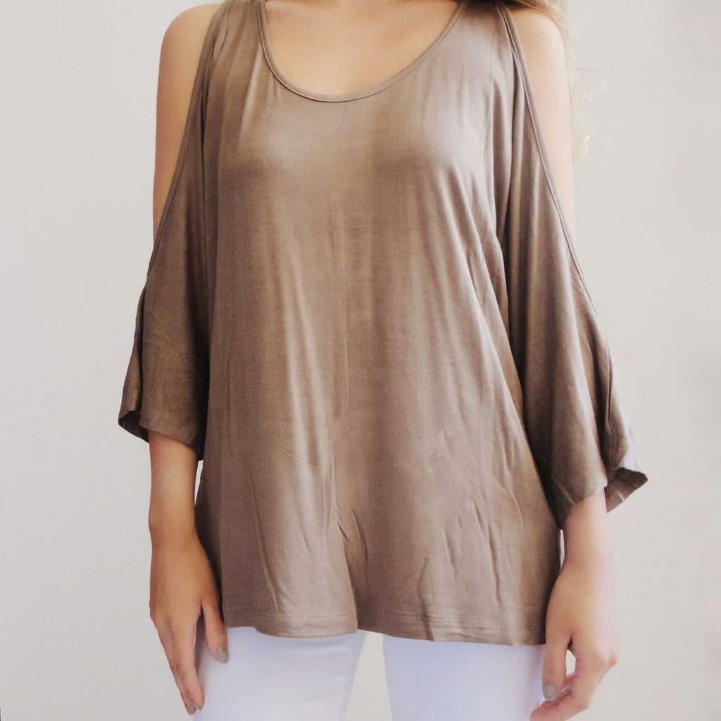 Ryan Open Shoulder Top