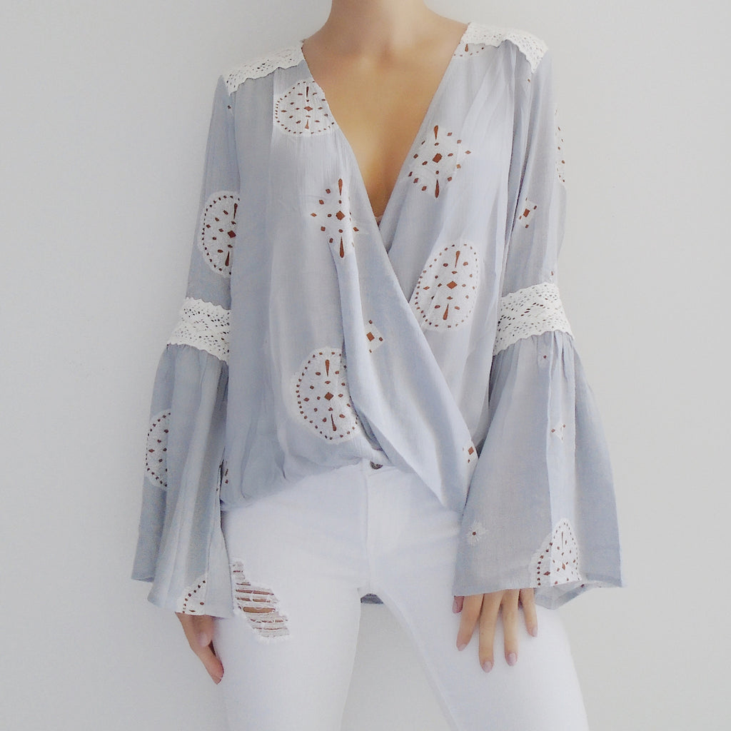 Isabella Bell Sleeve Top