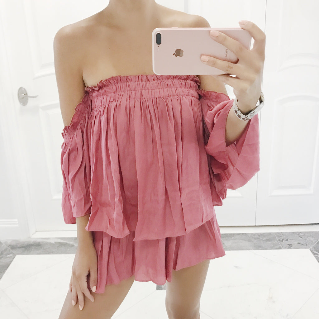 Mandi Off The Shoulder Romper