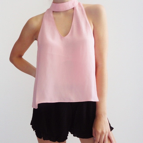 Rosie Choker Neck Top