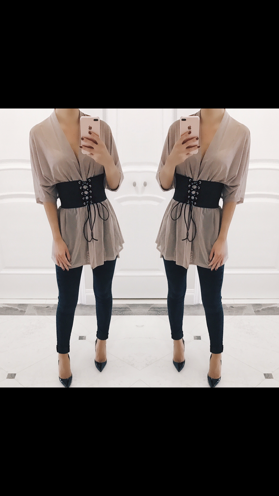Heidi Belted Shirt Dress