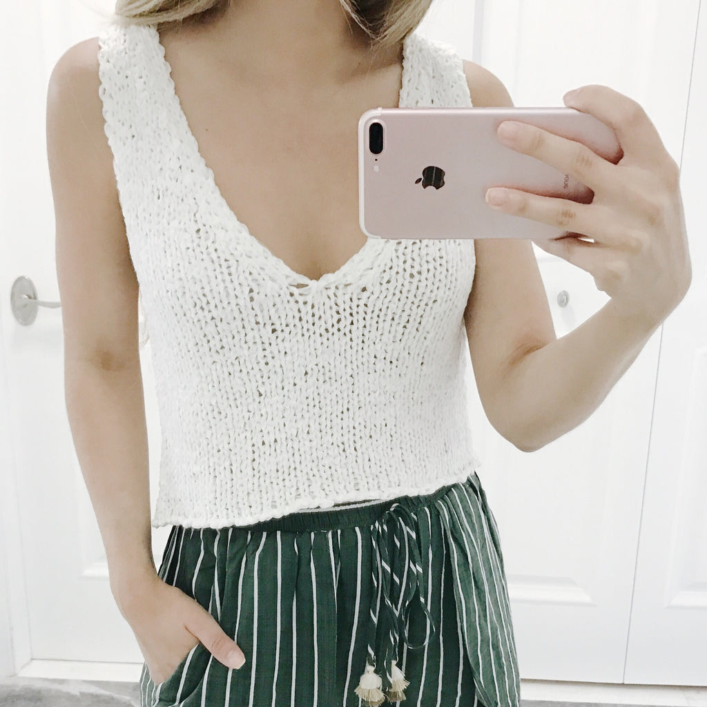 Holly Knit Crop Top