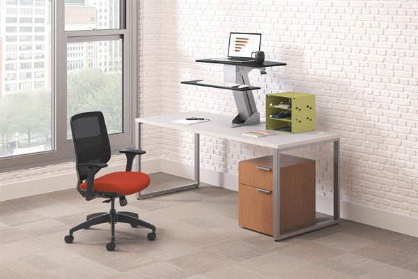Stand Up For The New Hon Directional Desktop Sit To Stand
