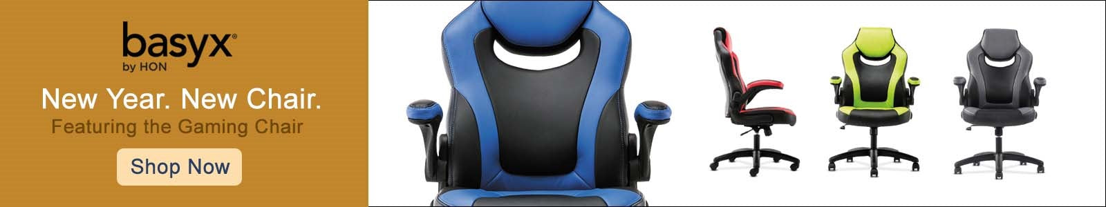 Basyx by HON Gaming Chair Banner