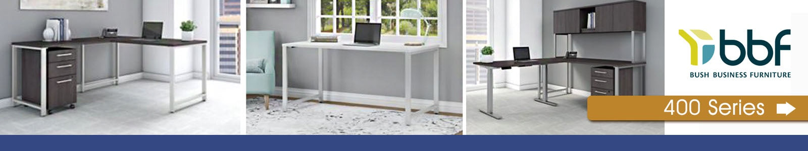 Bush Businss Furniture 400 Series Banner Image