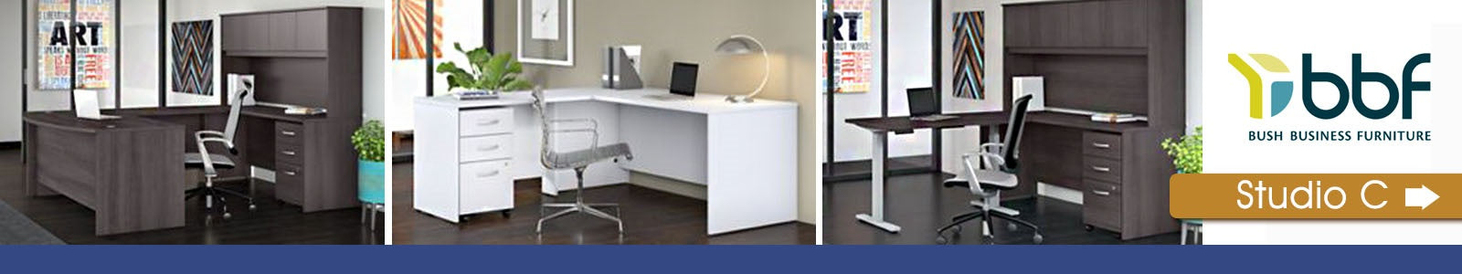 Bush Business Furniture Studio C Banner Image