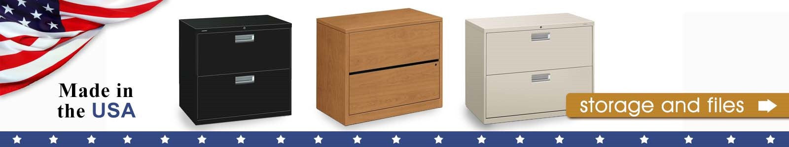 HON Storage & Filing Options Made in the USA