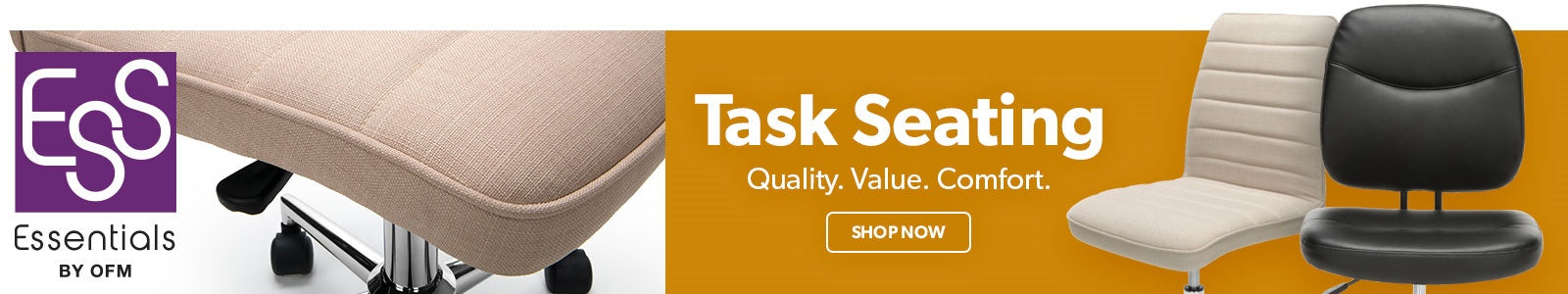 OFM Essentials Task Seating Collection Banner Image