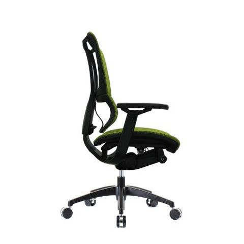Eurotech Ergonomic Mesh Office Chair in Bright Green with Black Frame