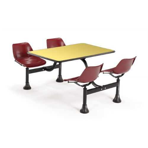 "OFM Cluster Table with Laminate top - 24"" x 48"" ; UPC: 845123010426"