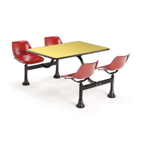"OFM Cluster Table with Laminate top - 24"" x 48"" ; UPC: 845123010471"