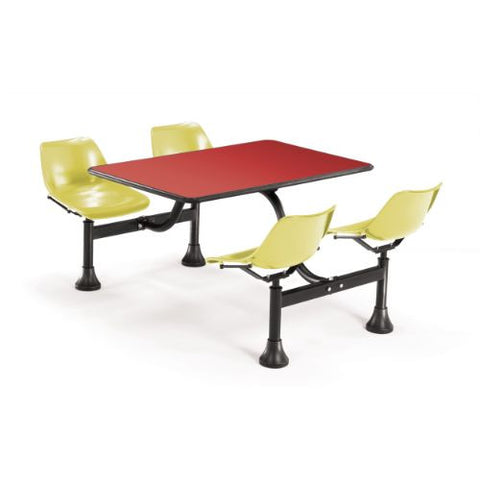 "OFM Cluster Table with Laminate top - 24"" x 48""; UPC:845123010563"