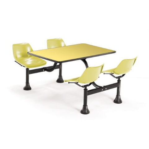 "OFM Cluster Table with Laminate top - 24"" x 48""; UPC:845123010570"