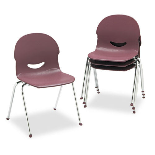 Virco IQ Series Stack Chair VIR26451750,  (UPC:046231777977)