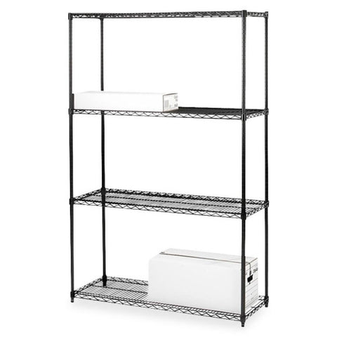 Lorell 4-Shelf Add-On Wire Shelving ; UPC: 035255700603
