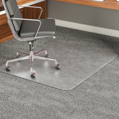 Deflecto Beveled Edge Chair Mat DEFCM17243, Clear (UPC:079916060323)