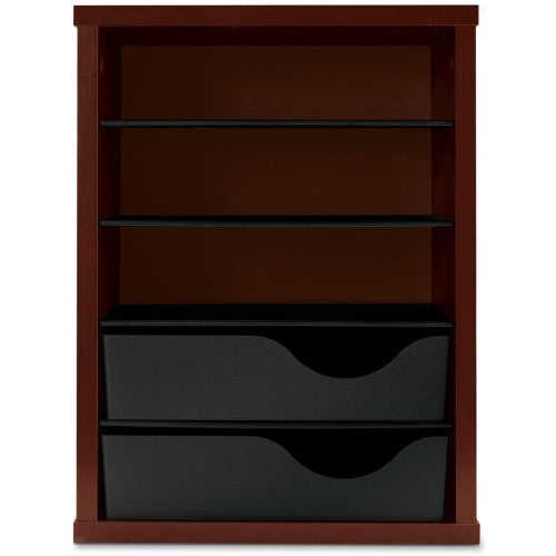 HON Vertical Paper Manager HONLVPM1N, Mahogany (UPC:782986933533)