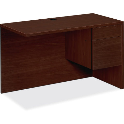 HON 10500 Series Right Return ; Color: Mahogany; UPC: 641128986670