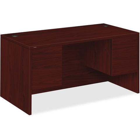"HON 10500 Series Double Pedestal Desk | 2 Box / 2 File Drawer | 60""W x 30""D x 29-1/2""H 
