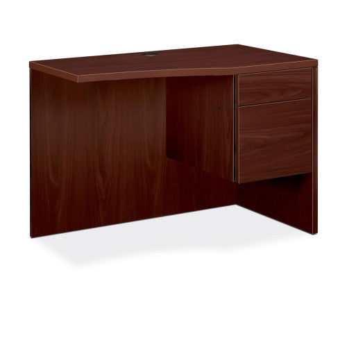 HON 10500 Series Curved Right Return HON105817RNN, Mahogany (UPC:641128070522)