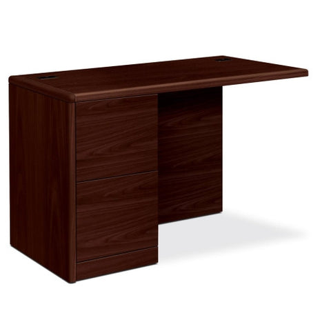 HON 10700 Series File/File Left Return HON10712LNN, Mahogany (UPC:641128894494)