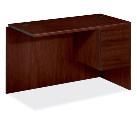 "HON 10700 Series ""L"" Workstation Right Return HON10715RNN, Mahogany (UPC:089192564736)"