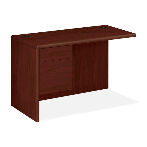 "HON 10700 Series ""L"" Workstation Left Return HON10716LNN, Mahogany (UPC:089192392674)"