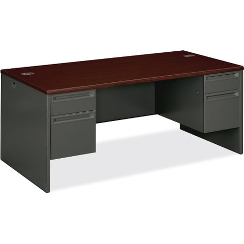HON 38000 Series Double Pedestal Desk HON38180NS ; UPC: 631530672414
