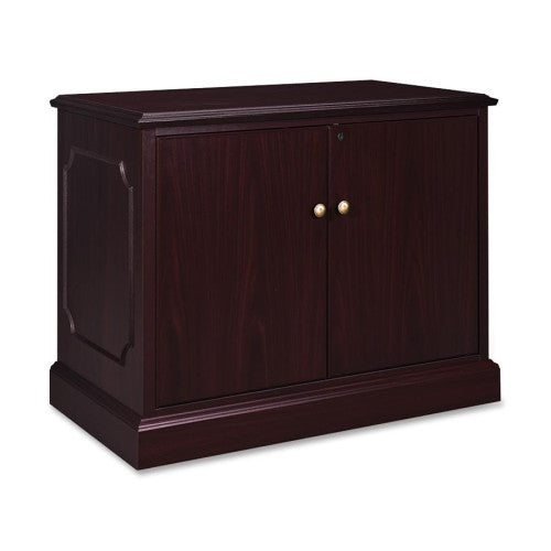 HON 94000 Series Storage Cabinet with Doors HON94291NN, Mahogany (UPC:782986010692)