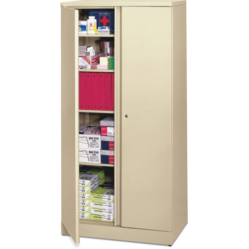 HON Easy-To-Assemble Storage Cabinet BSXC187236L, Putty (UPC:641128337458)