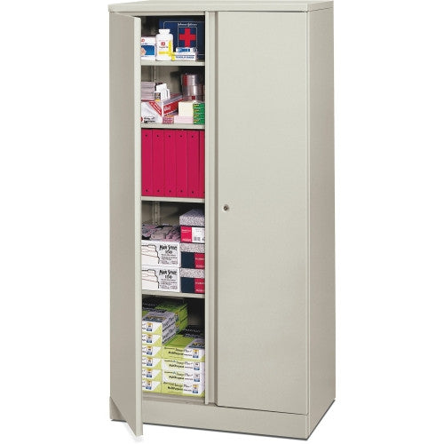 HON Easy-To-Assemble Storage Cabinet BSXC187236Q, Gray (UPC:641128291927)