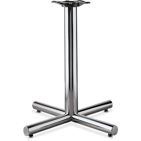 HON XSP-26 Hospitality Table Base HONXSP26CHR, Chrome (UPC:089191207757)