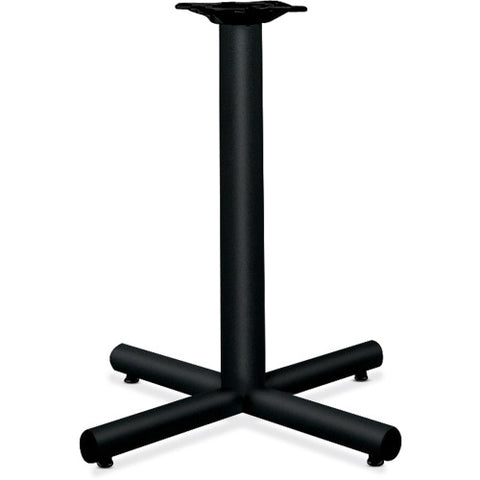 "HON Hospitality Table Base for 30"" - 36"" Square and Round Tops ; Color: Black; UPC: 641128648448"