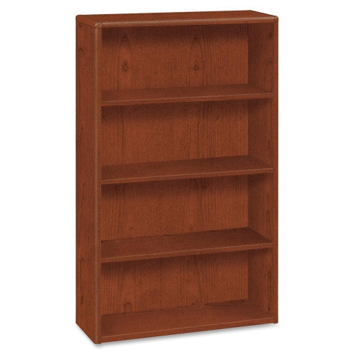HON 10700 Series 4-Shelf Bookcase HON10754JJ, Cherry (UPC:020459562850)